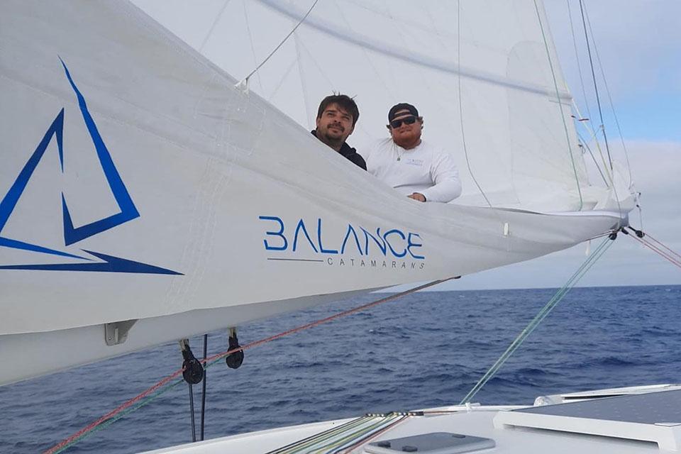 Steele Interview - Balance Catamaran